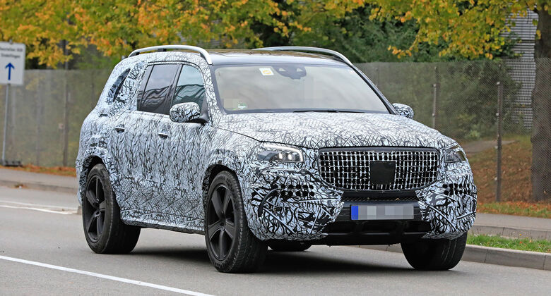 Erlkönig Mercedes-Maybach GLS