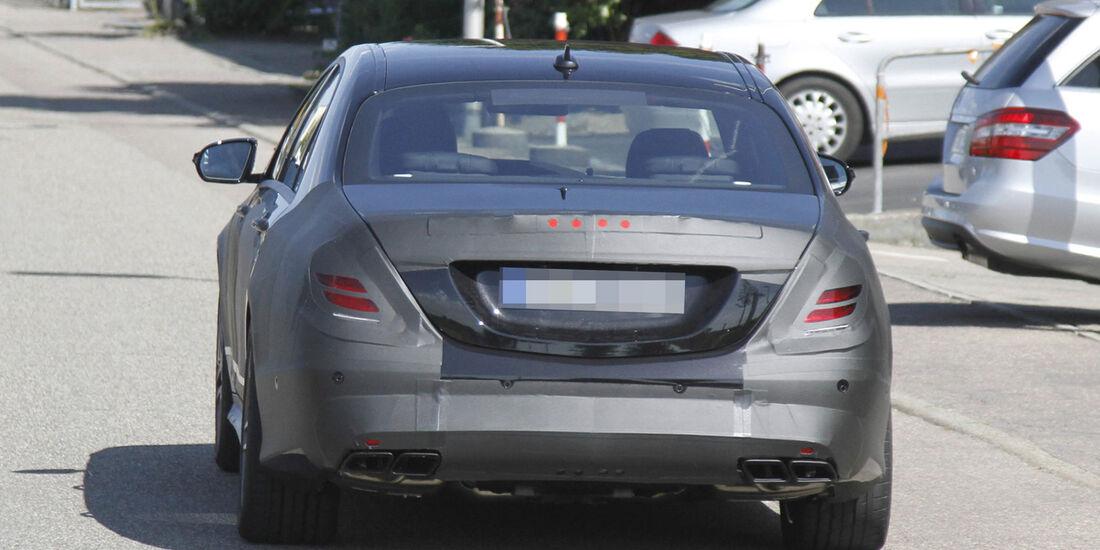 Erlkönig Mercedes S 63 AMG