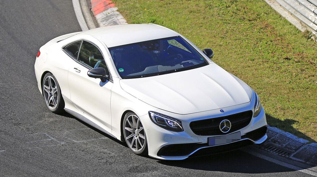 Erlkönig Mercedes SL / SLC Plattform