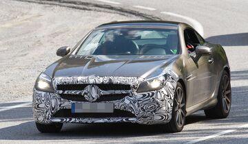 Erlkönig Mercedes SLC 450