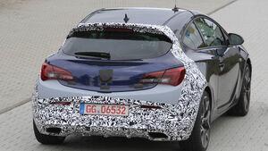 Erlkönig Opel Astra OPC