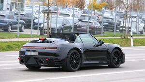 Erlkönig Porsche 911 Cabrio