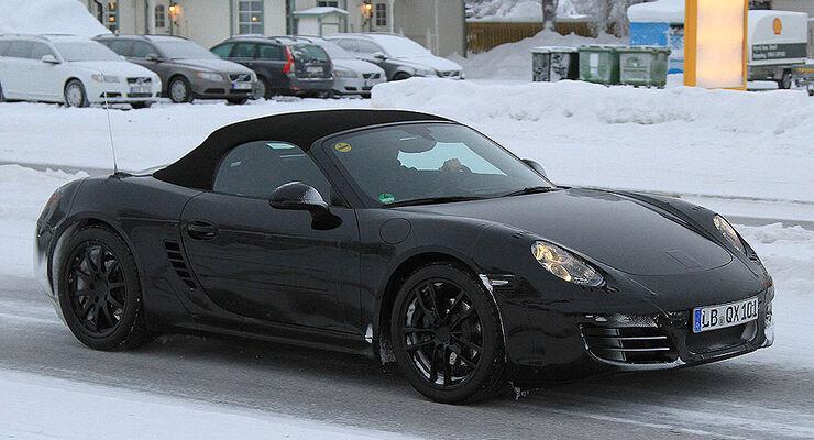 Erlkönig Porsche Boxster