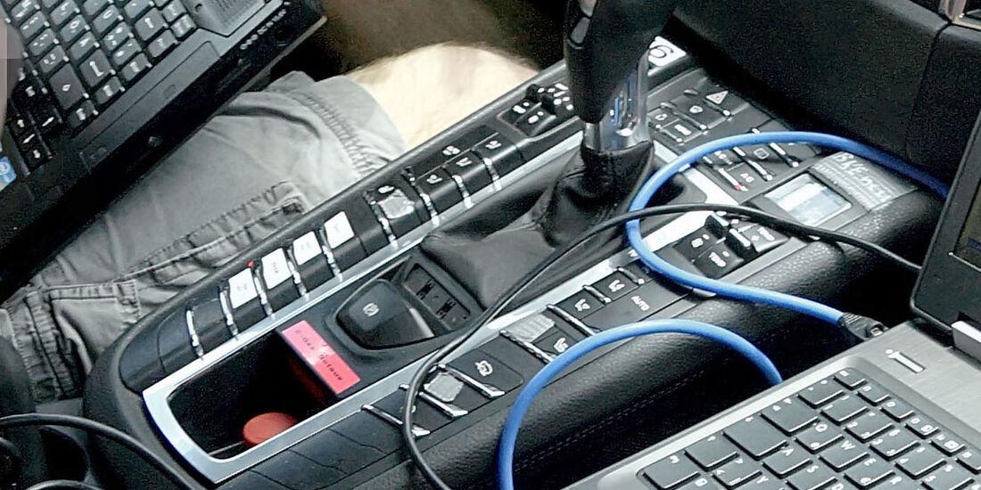 Erlkönig Porsche Macan, Innenraum