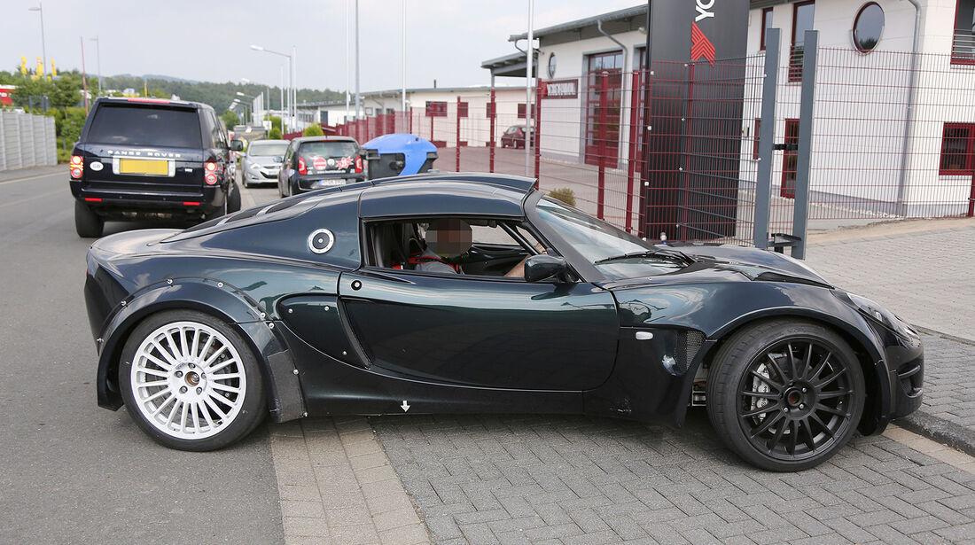 Erlkönig Renault Alpine Caterham