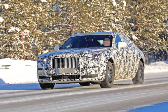 Erlkönig Rolls Royce Ghost