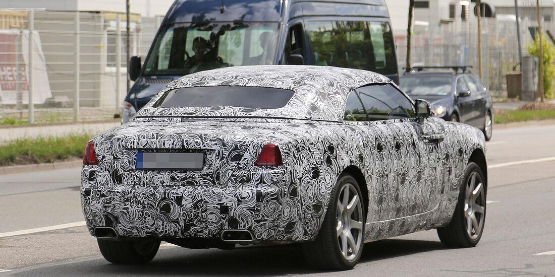Erlkönig Rolls Royce Wraith Cabrio