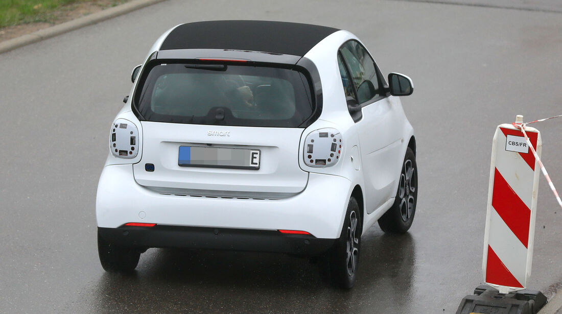 Erlkönig Smart EQ Fortwo Facelift