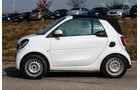 Erlkönig Smart Fortwo Cabrio