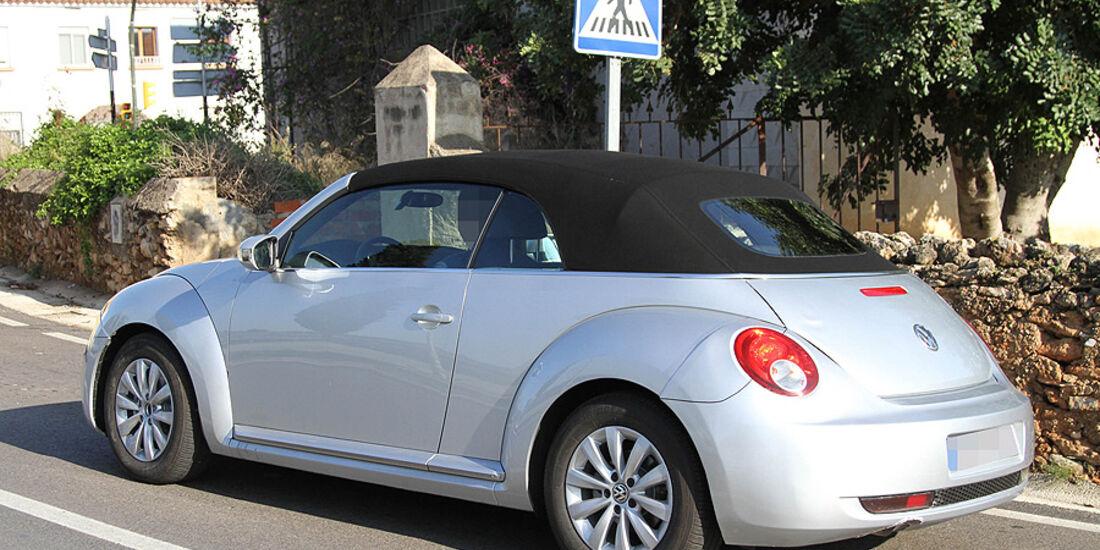 Erlkönig VW Beetle Cabrio