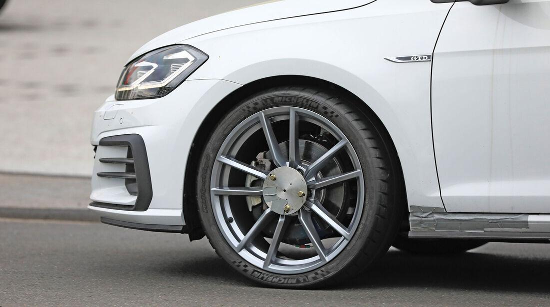 Erlkönig VW Golf Bremsstaubfilter