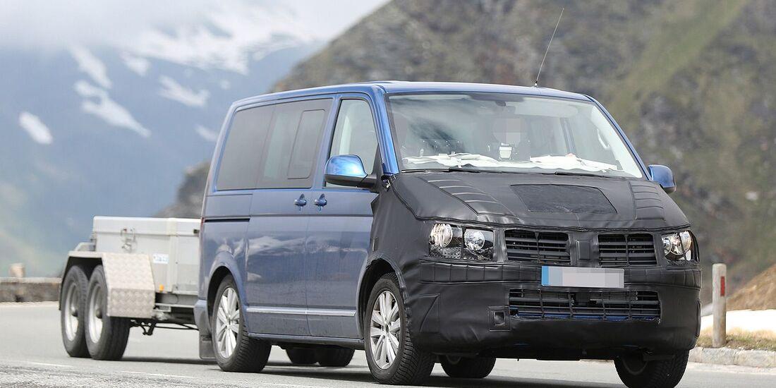 Erlkönig VW T6 Multivan