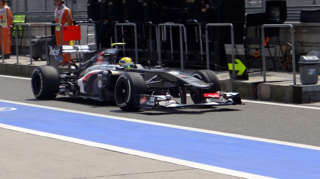 Esteban Gutierrez - Formel 1 - GP China - 12. April 2013