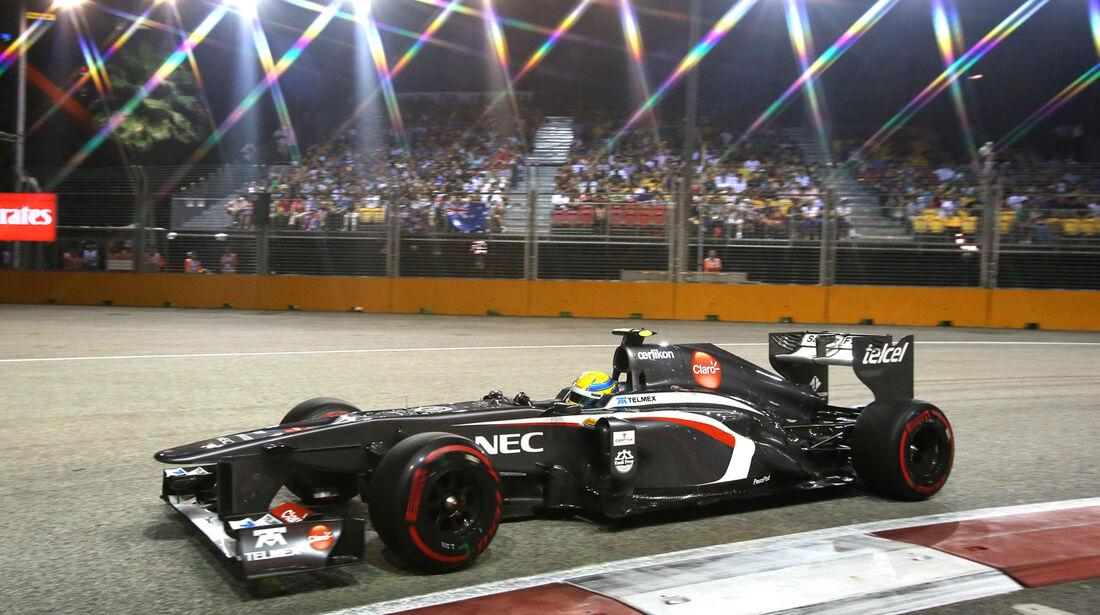 Esteban Gutierrez - GP Singapur 2013