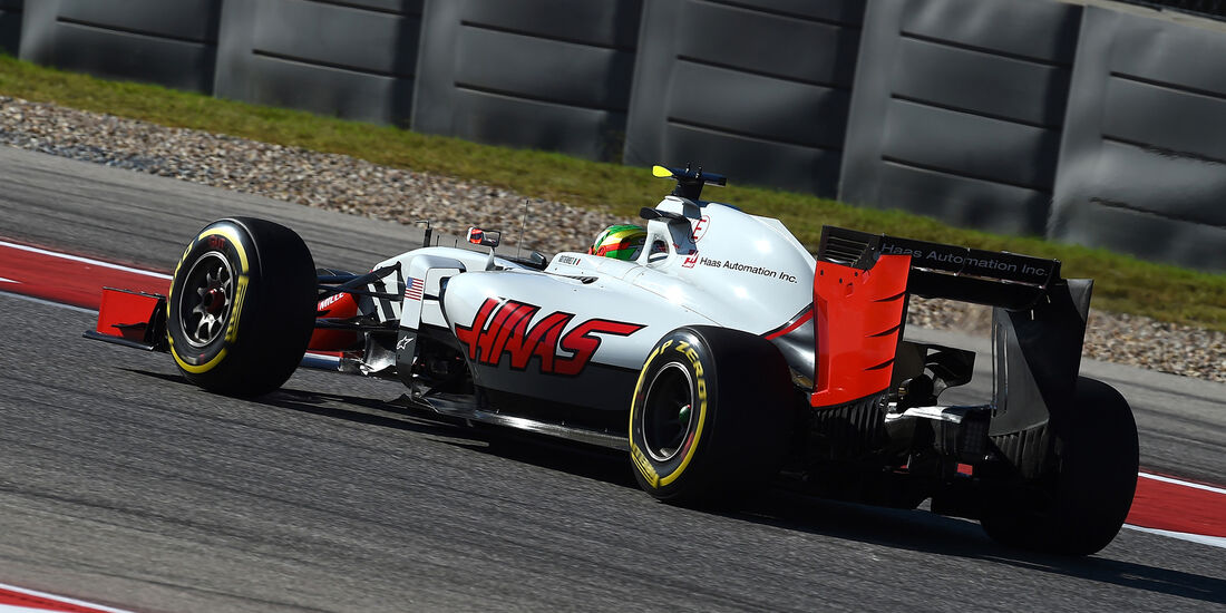 Esteban Gutierrez - GP USA 2016