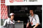 Esteban Gutierrez - Günther Steiner - Haas F1 Formel 1 - GP Ungarn - 22. Juli 2016