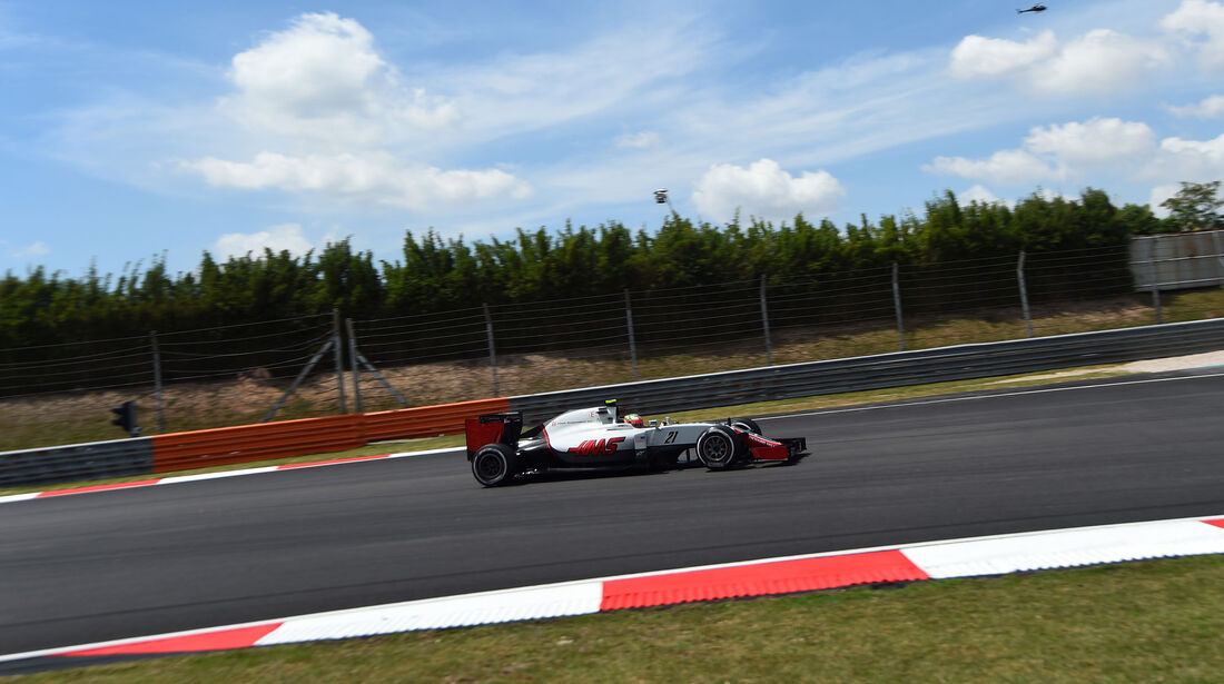 Esteban Gutierrez - HaasF1 -  Formel 1 - GP Malaysia - Freitag - 30.9.2016