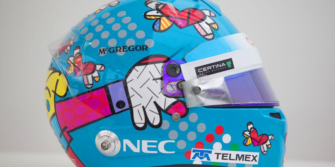 Esteban Gutierrez - Helm GP Monaco 2014