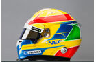 Esteban Gutierrez Helm - Sauber 2014