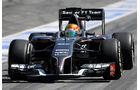 Esteban Gutierrez - Sauber - Barcelona - F1 Test 2 - 14. Mai 2014