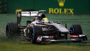 Esteban Gutierrez - Sauber - Formel 1 - GP Australien - 16. März 2013