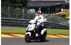 Esteban Gutierrez - Sauber - Formel 1 - GP Belgien - Spa-Francorchamps - 22. August 2013