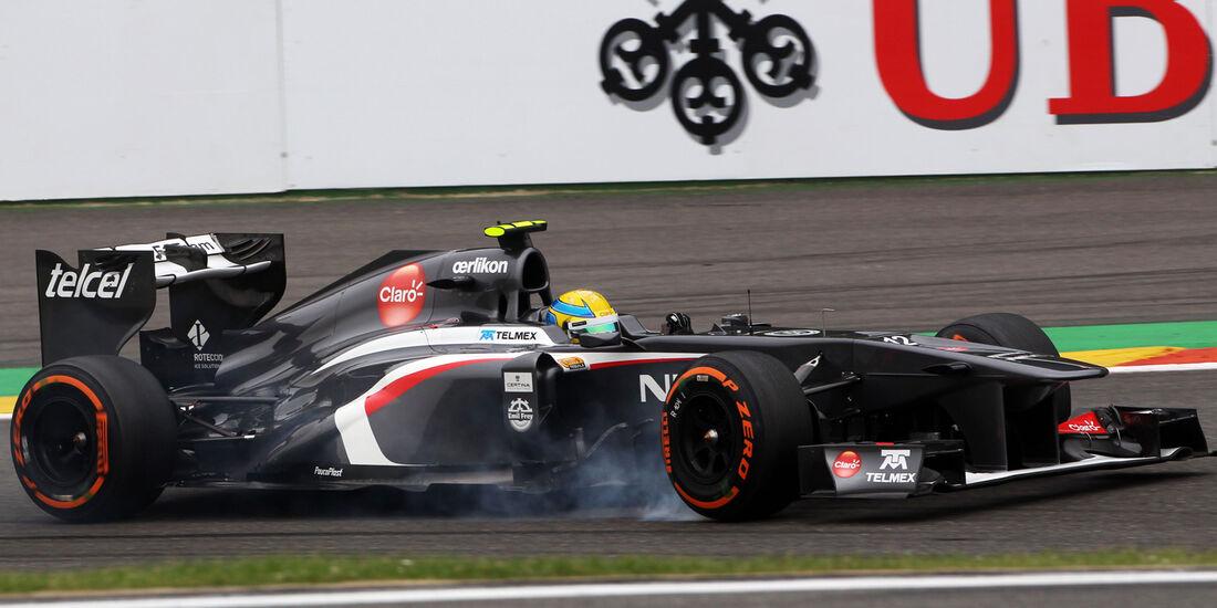 Esteban Gutierrez - Sauber - Formel 1 - GP Belgien - Spa-Francorchamps - 24. August