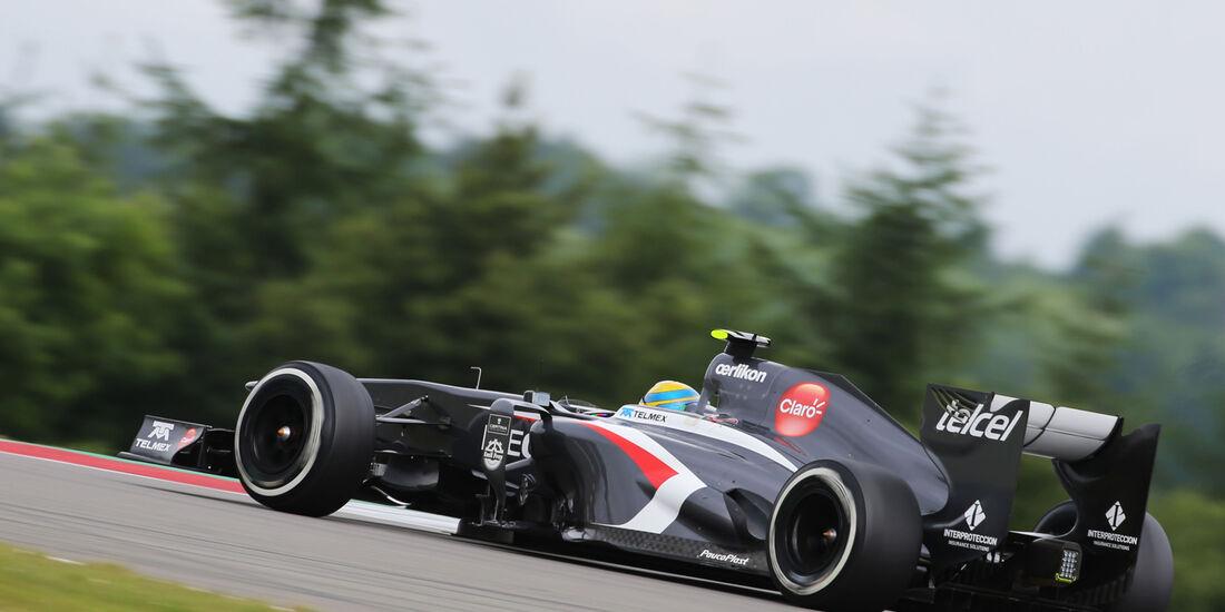 Esteban Gutierrez - Sauber - Formel 1 - GP Deuschland - 5. Juli 2013