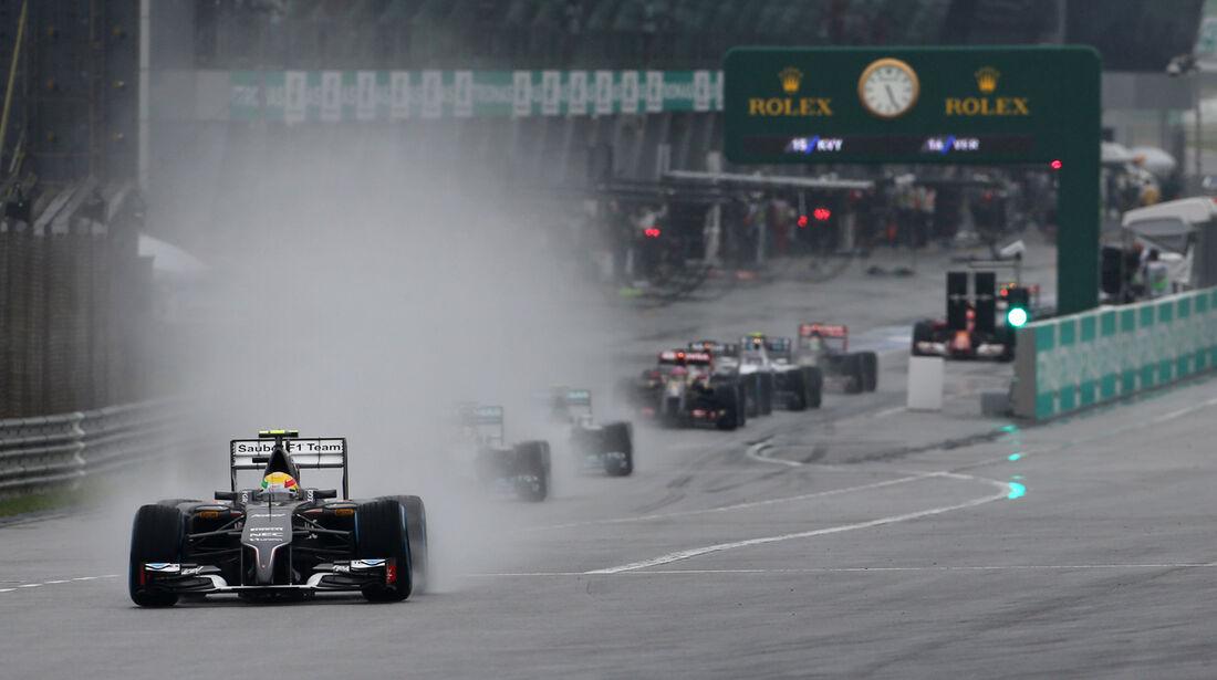 Esteban Gutierrez - Sauber - Formel 1 - GP Malaysia - Sepang - 29. März 2014