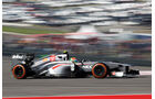 Esteban Gutierrez - Sauber - Formel 1 - GP USA - 15. November 2013