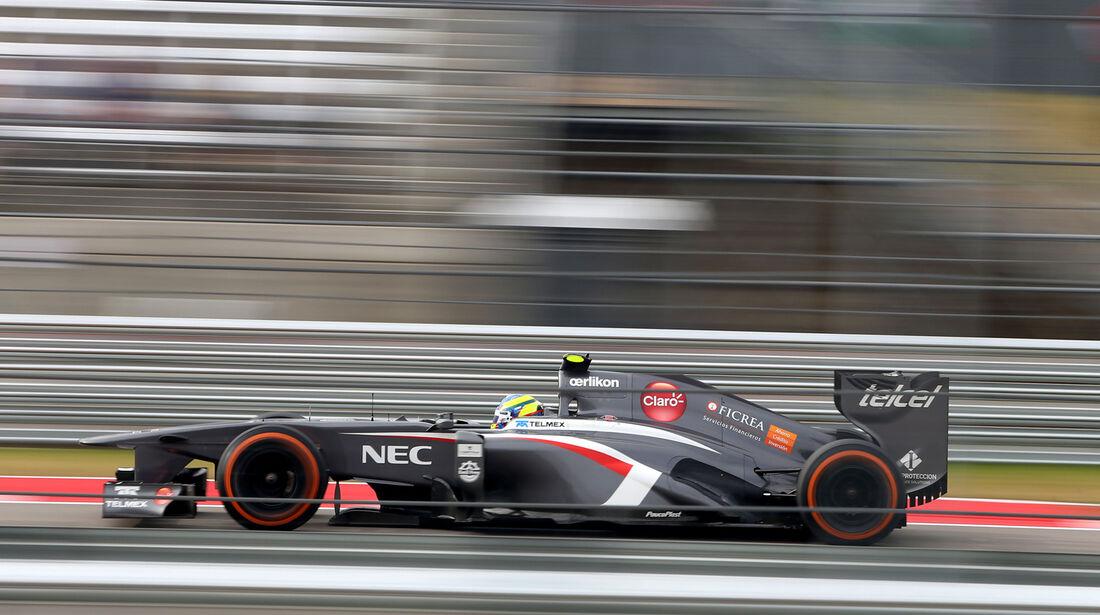 Esteban Gutierrez - Sauber - Formel 1 - GP USA - 16. November 2013