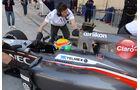 Esteban Gutierrez - Sauber - Formel 1 - Test - Bahrain - 20. Februar 2014