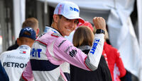 Esteban Ocon - Force India - Formel 1 - GP Belgien - Spa-Francorchamps - 25. August 2018