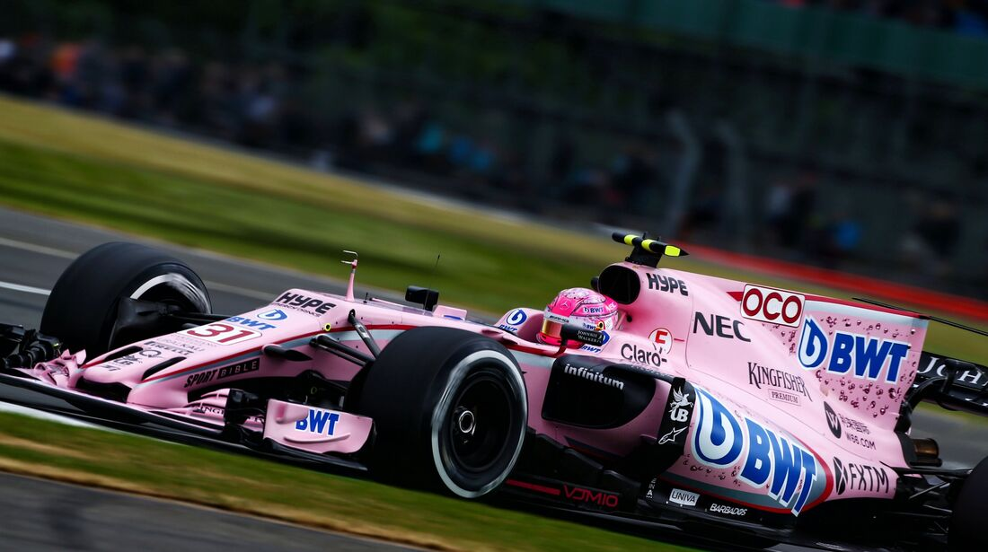 Esteban Ocon - Force India - Formel 1 - GP England - 14. Juli 2017