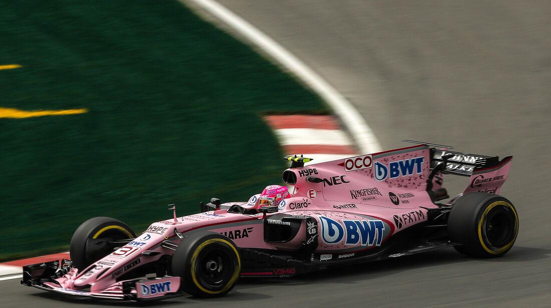 Esteban Ocon - Force India - Formel 1 - GP Kanada - Montreal - 9. Juni 2017