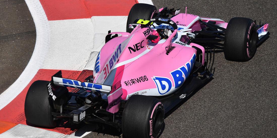 Esteban Ocon - Force India - GP Abu Dhabi - Formel 1 - 23. November 2018
