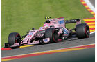 Esteban Ocon - Force India - GP Belgien - Spa-Francorchamps - Formel 1 - 25. August 2017