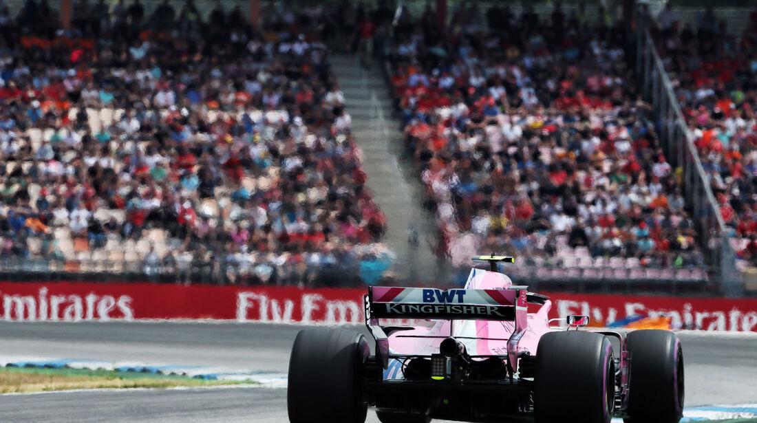 Esteban Ocon - Force India - GP Deutschland 2018 - Hockenheim - Qualifying - Formel 1 - Samstag - 21.7.2018