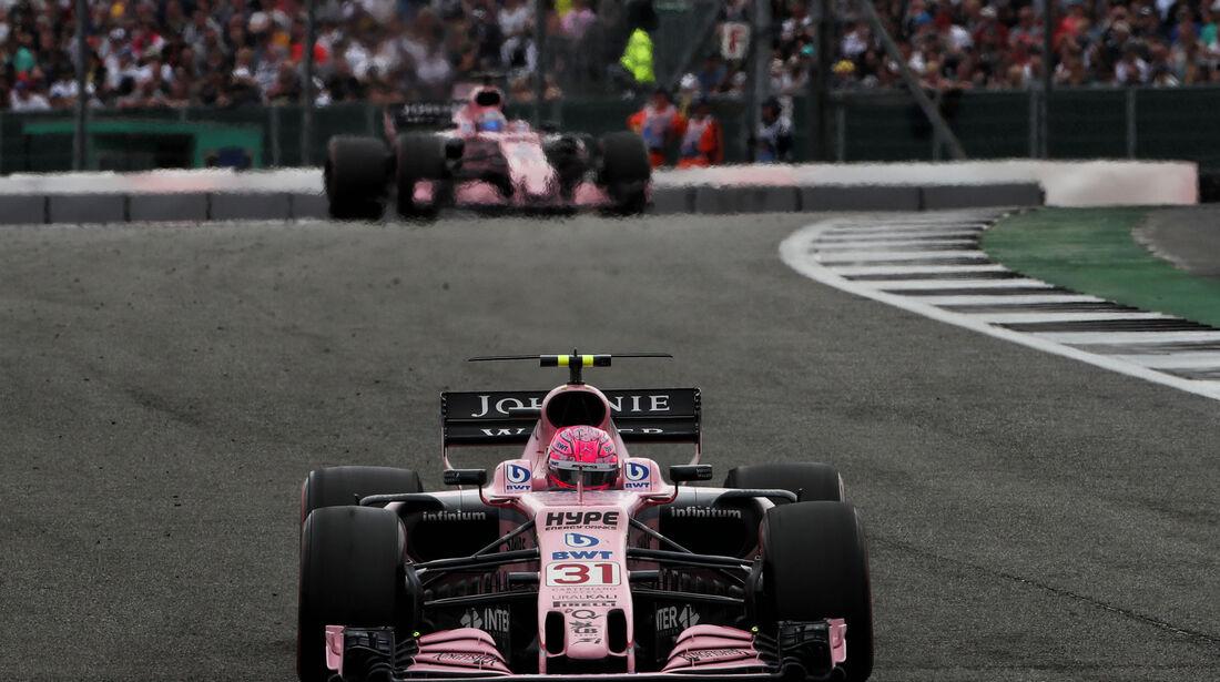 Esteban Ocon - Force India - GP England 2017 - Silverstone - Rennen