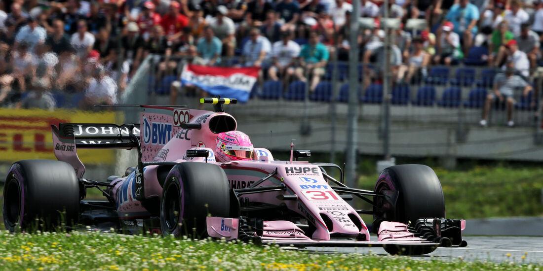 Esteban Ocon - Force India - GP Österreich 2017 - Spielberg - Qualifying