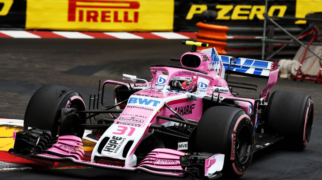 Esteban Ocon - Formel 1 - GP Monaco 2018