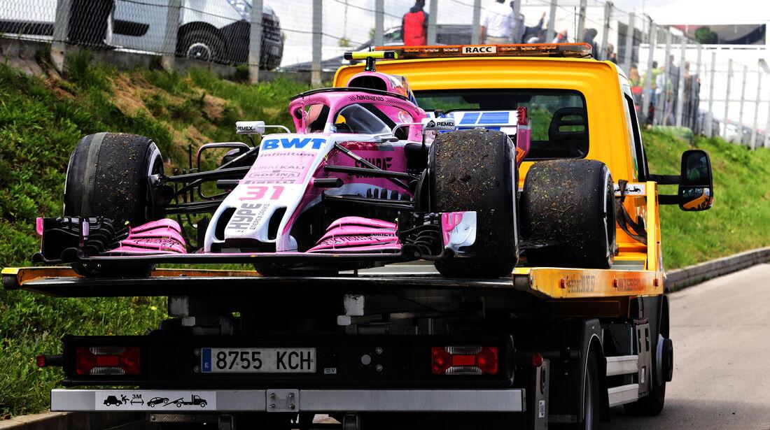 Esteban Ocon - Formel 1 - GP Spanien 2018