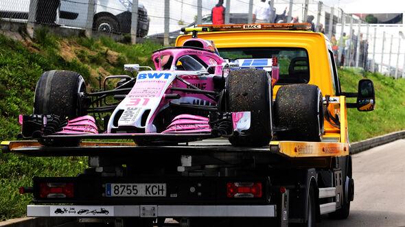 Esteban Ocon - GP Spanien 2018