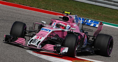 Esteban Ocon - GP USA 2018