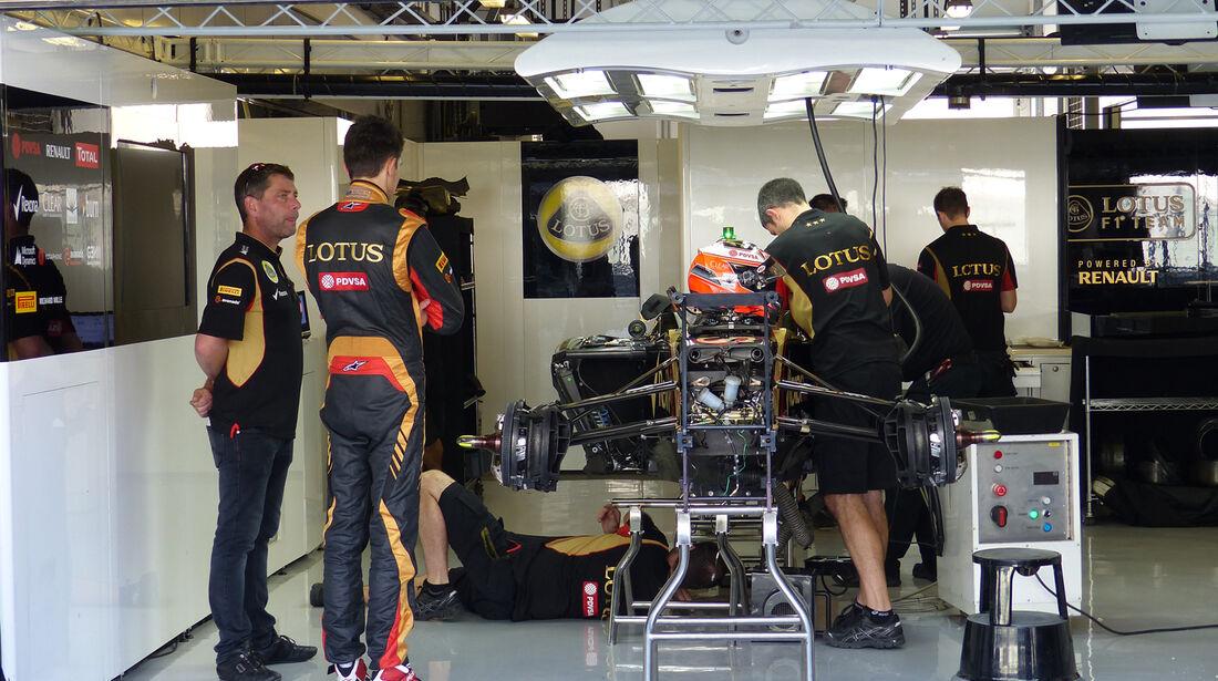 Esteban Ocon - Lotus - Formel 1 - GP Abu Dhabi - 20. November 2014