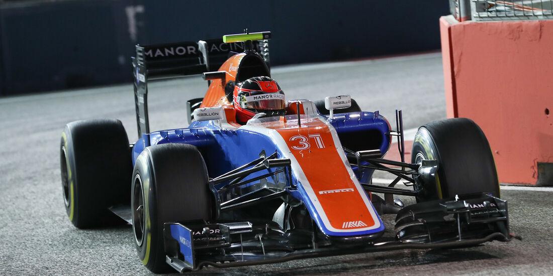 Esteban Ocon - Manor - Formel 1 - GP Singapur - 16. September 2016