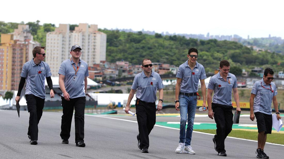 Esteban Ocon - Manor - GP Brasilien - Sao Paulo - Interlagos - Donnerstag - 10.11.2016