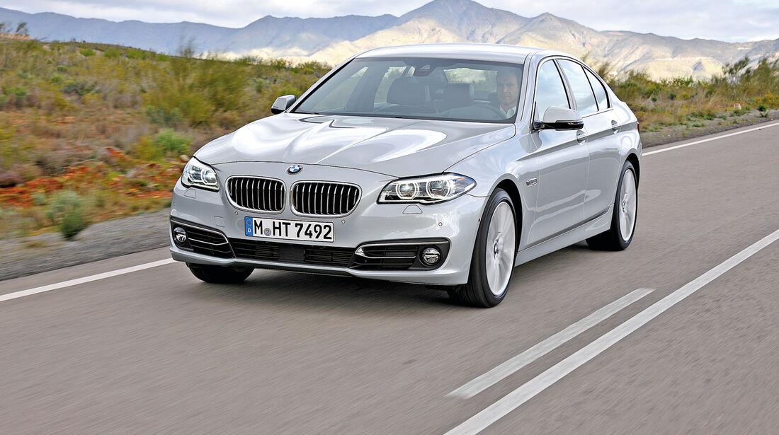 Euro-6-Neuzulassungen, BMW 5er