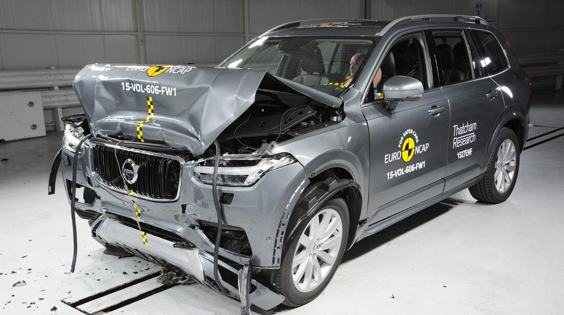 Euro NCAP - Crashtest Volvo XC90