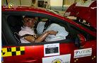 EuroNCAP-Crahtest Renault Clio Passenger
